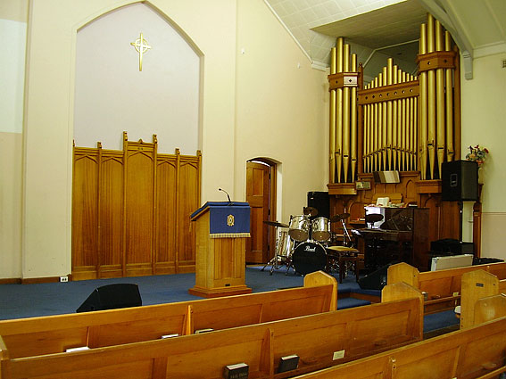Organ For Sale >> St Andrew's Presbyterian Church, Anderson Street, Chatswood